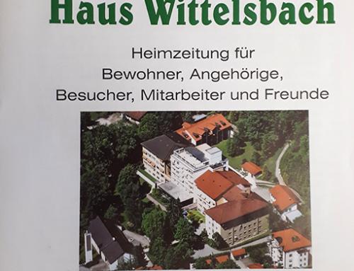 Die 60te Ausgabe der Heimzeitung Haus Wittelsbach